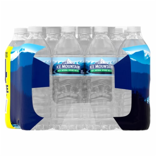 Ice Mountain 100% Natural Spring Water Perspective: right