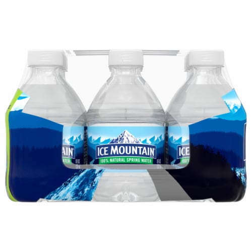Ice Mountain Natural Spring Water Perspective: right