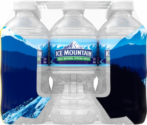 Ice Mountain Go Size Natural Spring Water Perspective: right