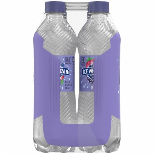 Ice Mountain Triple Berry Sparkling Water 8 Count Perspective: right