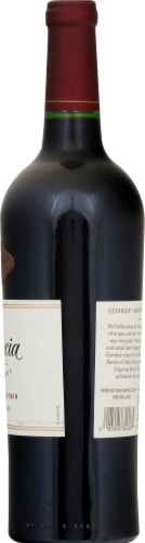 Estancia Cabernet Sauvignon Red Wine Perspective: right