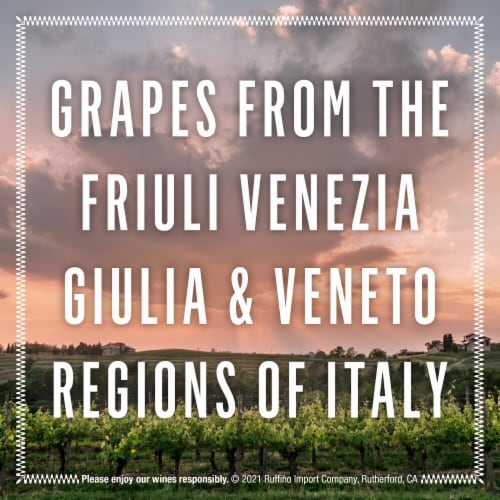 Ruffino Rose Sparkling Wine Perspective: right