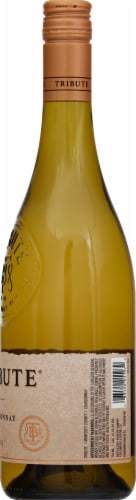 Tribute Chardonnay White Wine Perspective: right