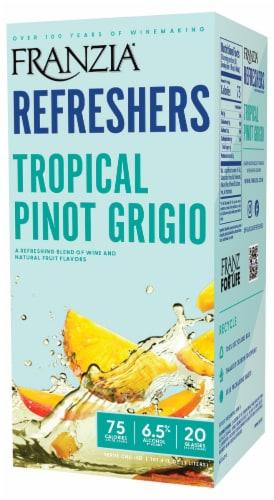 Franzia Refreshers Tropical Pino Grigo Box White Wine Perspective: right