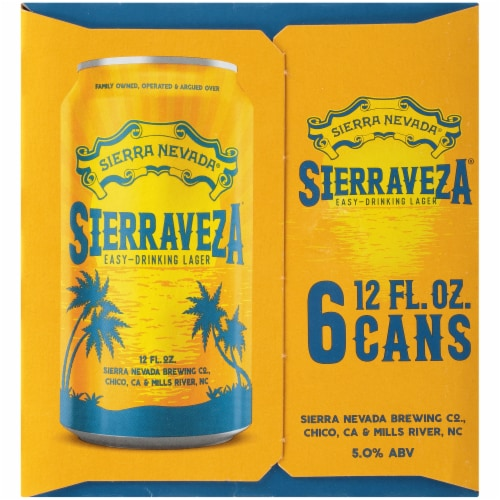 Sierra Nevada Brewing Co. SierraVeza Easy-Drinking Lager Perspective: right