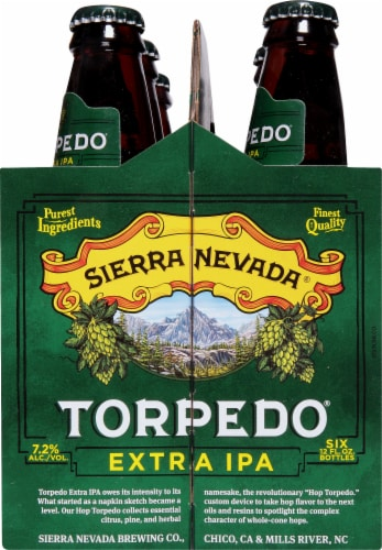 Sierra Nevada Brewing Co. Torpedo Extra IPA Beer Perspective: right
