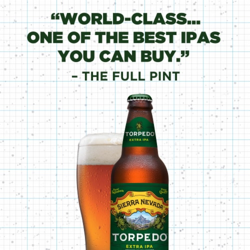 Sierra Nevada Brewing Co. Torpedo Extra IPA Perspective: right