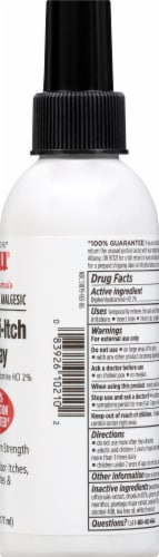 Tecnu Rash Relief Anti-Itch Spray with Scar Reduction Perspective: right