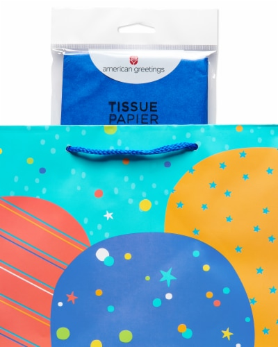 American Greetings #2 Gift Bag with Tissue Paper Perspective: right