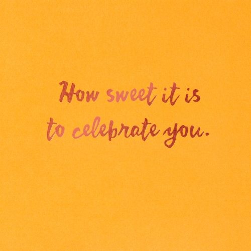American Greetings Birthday Card (Cake Day) Perspective: right