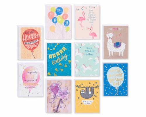 American Greetings Deluxe Birthday Greeting Card Bundle Perspective: right