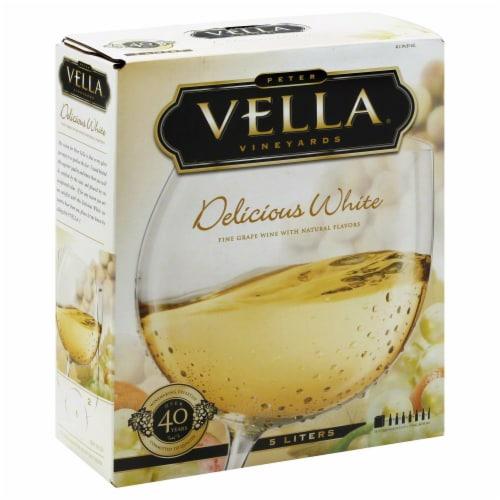 Peter Vella Delicious White Box Wine Perspective: right