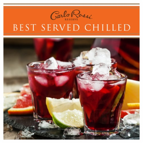 Carlo Rossi Sangria Sweet Red Wine Perspective: right
