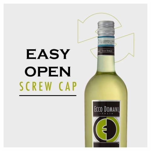 Ecco Domani Pinot Grigio White Wine Perspective: right