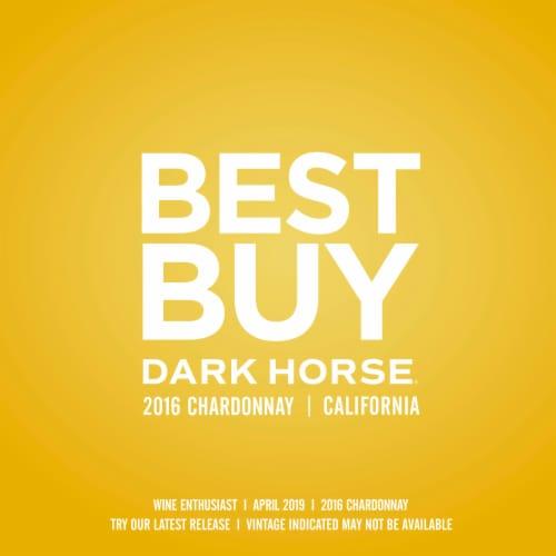 Dark Horse Chardonnay White Wine Perspective: right