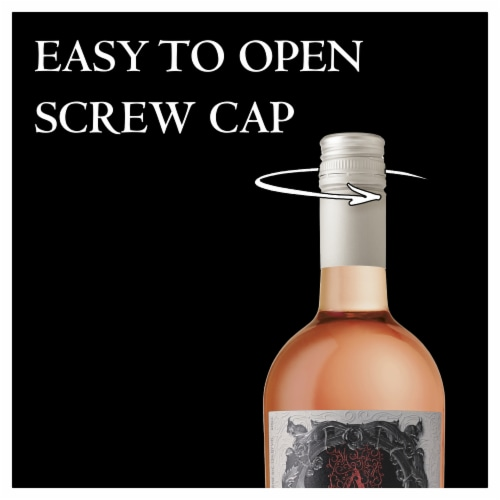 Apothic Rose Wine Perspective: right