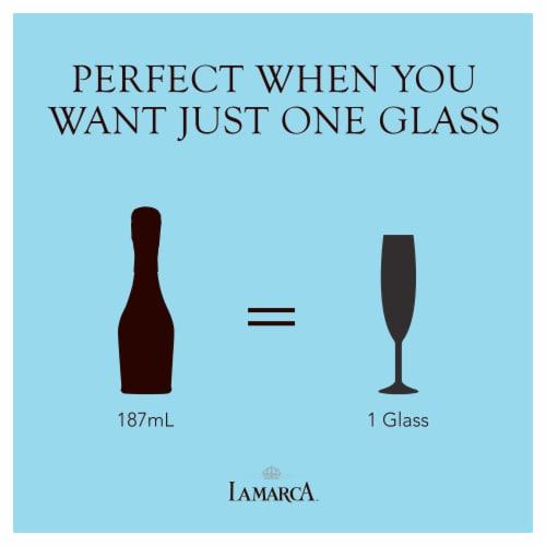 La Marca Prosecco Sparkling Wine 1 Single Serve 187ml Perspective: right