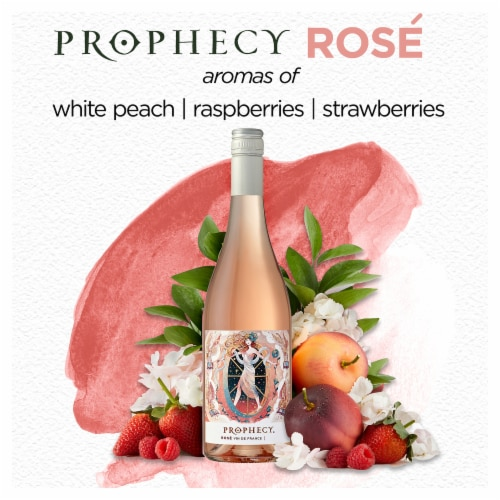 Prophecy Rose Wine Perspective: right