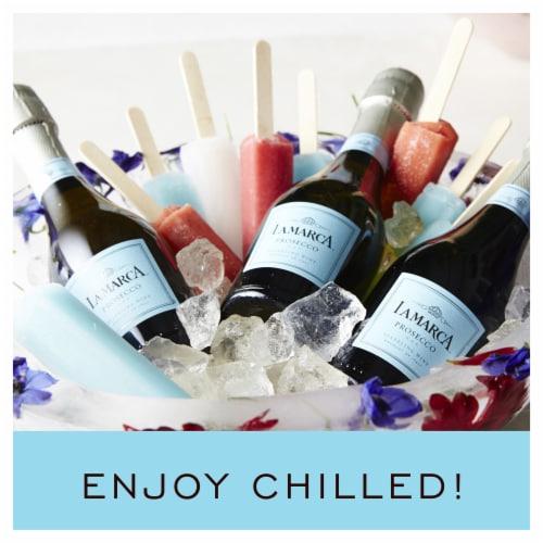 La Marca Prosecco Sparkling Wine 3 Single Serve 187ml Bottles Perspective: right