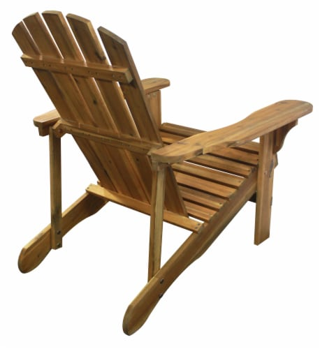 Leigh Country Adirondack Chair - Natural Stain Perspective: right