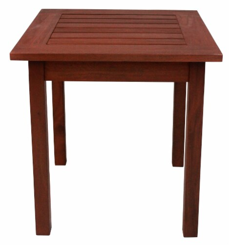 Leigh Country Heartland End Table - Natural Stain Perspective: right