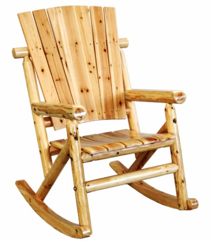 Leigh Country Aspen Single Rocker - Natural Finish Perspective: right