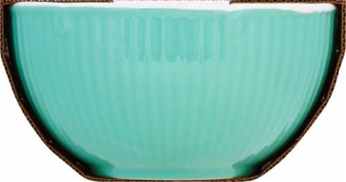 Martha Stewart Epherma Nesting Prep Bowl Set - Blue Perspective: right