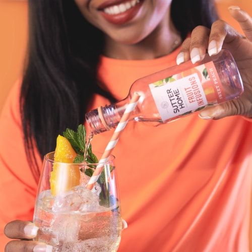 Sutter Home® Fruit Infusions Sweet Peach White Wine Perspective: right