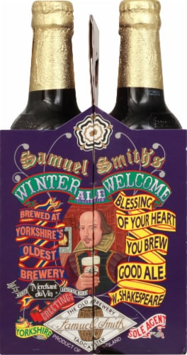 Samuel Smith's Winter Welcome Ale Perspective: right