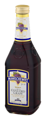 Manischewitz Concord Grape Red Wine Perspective: right