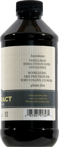 Rodelle Gourmet Pure Vanilla Extract Perspective: right