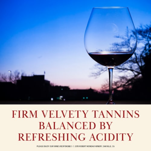 Robert Mondavi Winery Merlot Red Wine Perspective: right