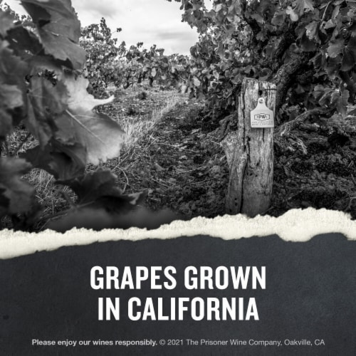 The Prisoner Wine Co. Red Blend Perspective: right