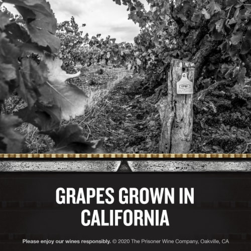 The Prisoner Wine Company Unshackled Cabernet Sauvignon Red Wine Perspective: right