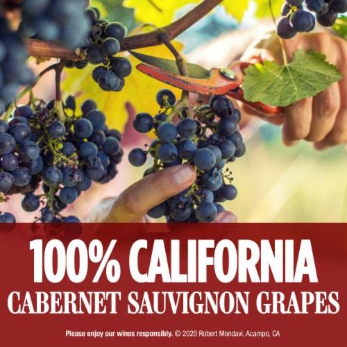 Robert Mondavi Private Selection 100% Cabernet Sauvignon Red Wine Perspective: right