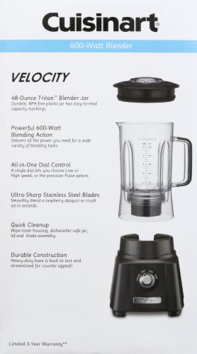 Cuisinart Velocity High Performance Blender - Gray Perspective: right