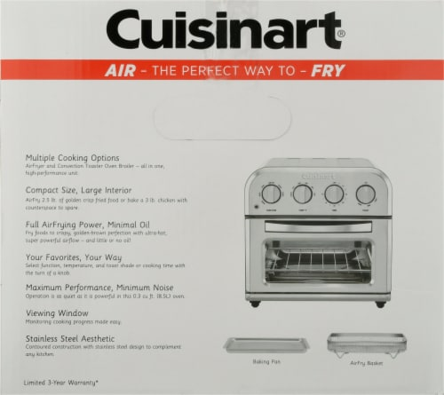 Cuisinart AirFryer Toaster Oven Perspective: right