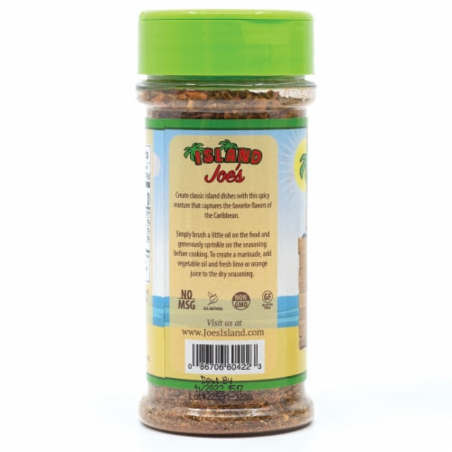 Island Joe's Caribbean Hot Jerk Seasoning Perspective: right