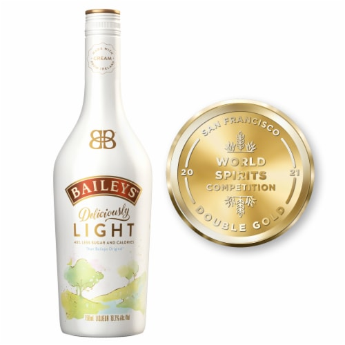 Bailey's Deliciously Light Liqueur Perspective: right