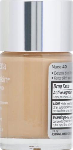 Neutrogena Healthy Skin 40 Nude Liquid Makeup SPF 20 Perspective: right