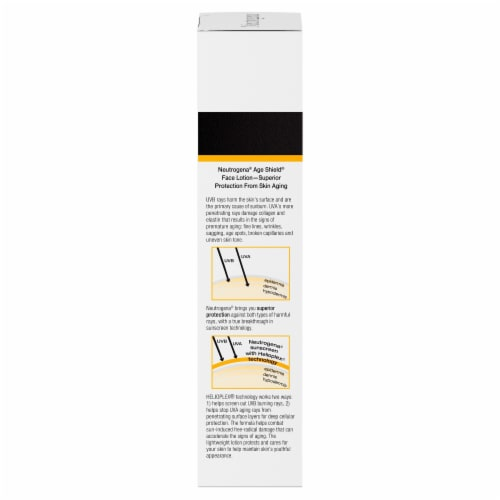 Neutrogena Age Shield Oil-Free Lotion Face Sunscreen SPF 110 Perspective: right