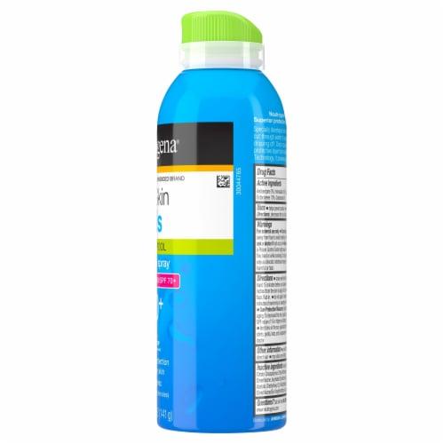 Neutrogena® Wet Skin Kids Beach & Pool Sunscreen Spray SPF 70+ Perspective: right