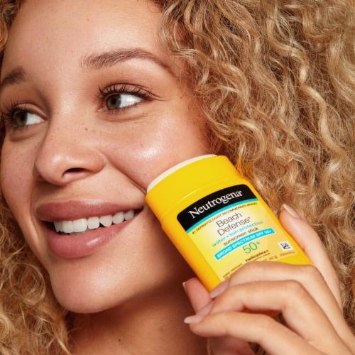 Neutrogena Beach Defense SPF 50+ Sunscreen Stick Perspective: right