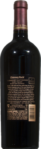 Chimney Rock Cabernet Sauvignon Perspective: right