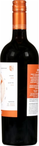 R Strong Upshot Red Blend Perspective: right