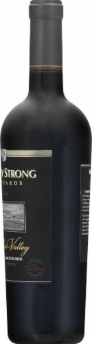 Rodney Strong Knights Valley Cabernet Sauvignon Perspective: right