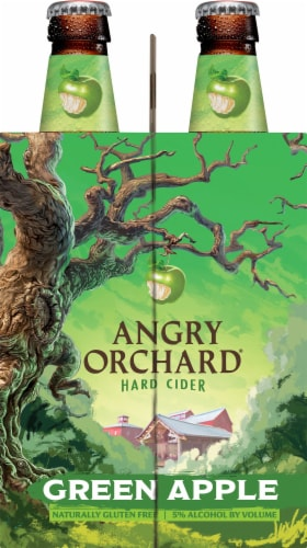 Angry Orchard Green Apple Cider Perspective: right