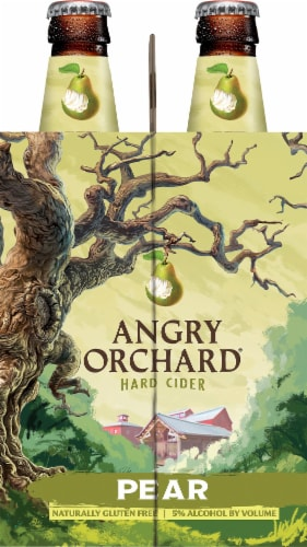 Angry Orchard Pear Hard Cider Perspective: right
