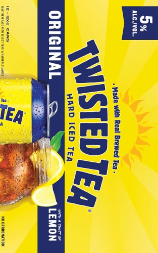 Twisted Tea Original Hard Iced Tea (12 Pack) Perspective: right