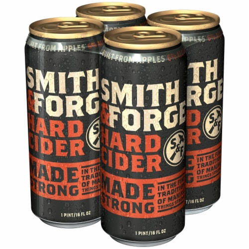 Smith & Forge Hard Cider Perspective: right